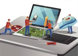 En esta imagen se puede observar como se configuran diferentes dispositivos y equipos informáticos